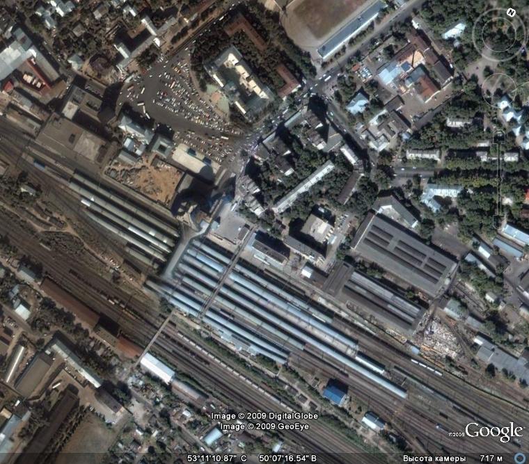 Стадион на Радиоцентре | Город на реке Самара